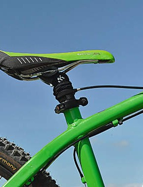 Rase Black Mamba Rapid Adjust Seatpost - Lowered