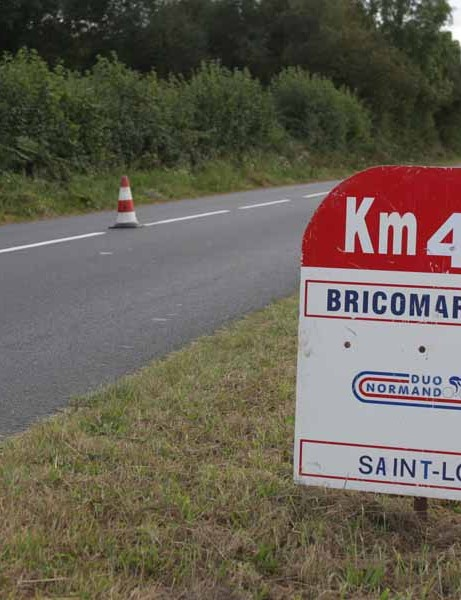 The Duo Normand is a 54.3km two man time trial in Normandy