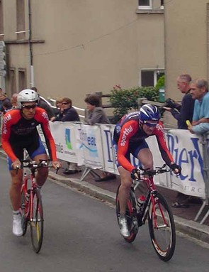 Wouter Sybrandy and Steve Golla competed in the elite category