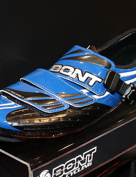 The a-one is Bont's top road model with a full carbon fibre lower chassis and heat moldable fit.
