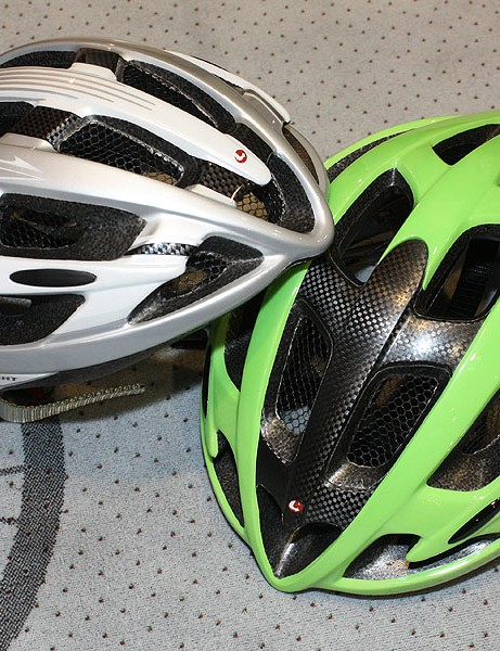 The existing Pro 104 Ultralight (left) now gets a US-spec CPSC-approved Carbon version (right) with a reinforcing carbon fibre panel.