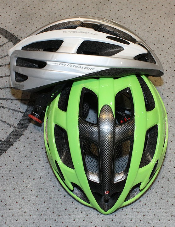 The Pro 104 Ultralight boasts a minimal profile and sits rather high up on your head.