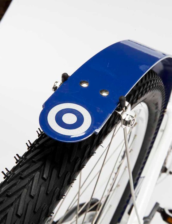 Even the mudguards are logoed up