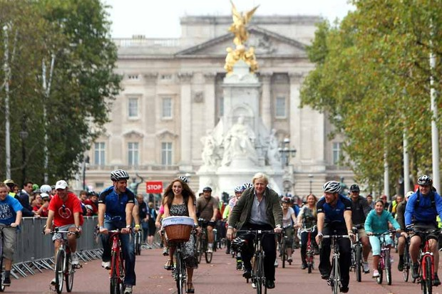 London Mayor Boris Johnson is coming under pressure to deliver on his Cycle Superhighways promise