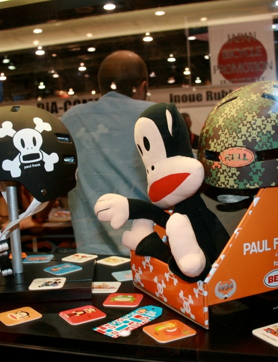 The Bell Paul Frank Faction and Fraction helmets are just US$40.