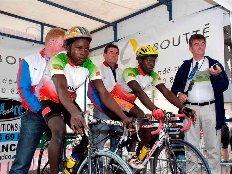 A couple of teams from Burkina Faso took part
