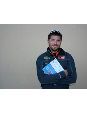 NorCal Racing and NICA director Matt Fritzinger in Fairfax, CA last October during the leader's summit.