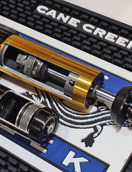 Cane Creek has revised its Double Barrel rear shock with more linear-feeling adjusters, smoother Norglide bushings and a new bottom-out bumper that yields an extra 3mm of shock stroke than before.