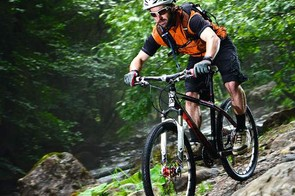 The frame eats rough terrain and begs to be pushed harder on technical descents