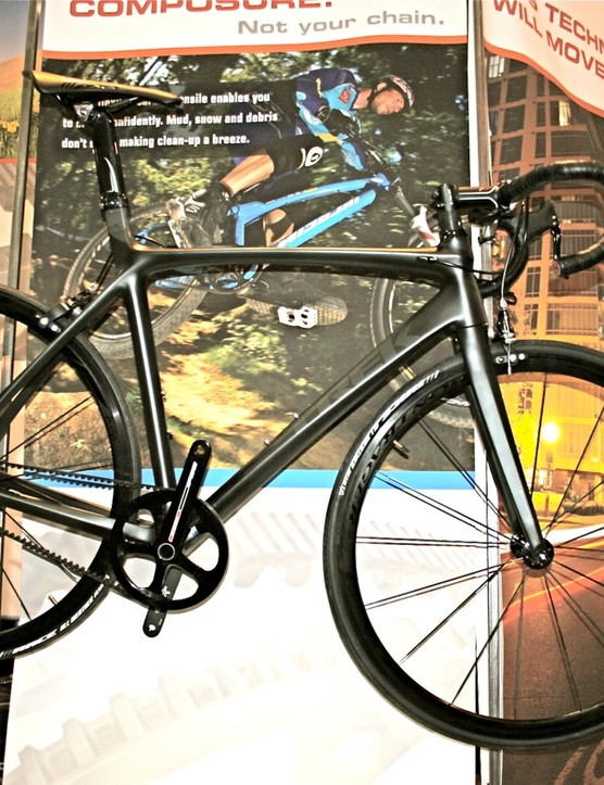 Trek is expanding its use of the Gates belt drive for 2010, including this carbon road model.