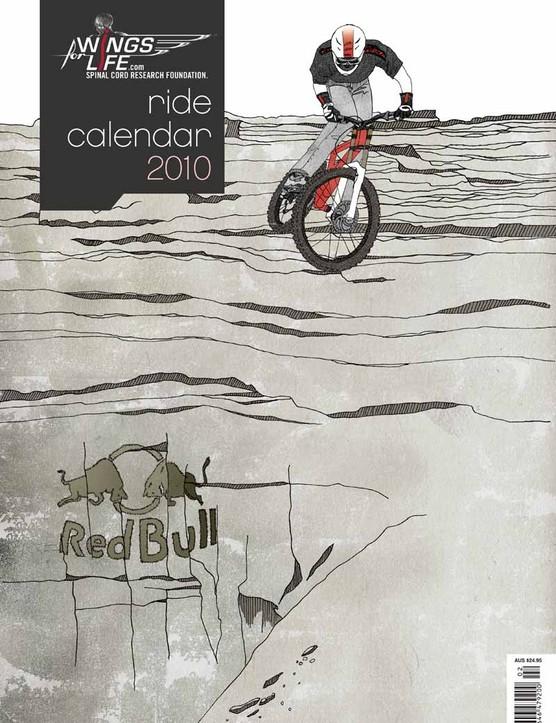 The cover of Ride Calendar 2010