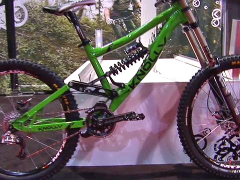 Knolly Bikes' 2010 Podium downhill rig