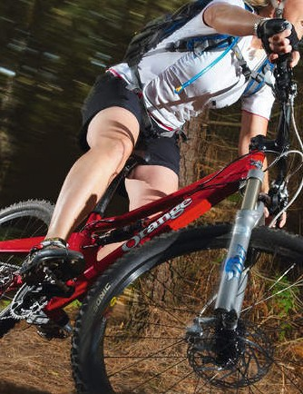 The Diva is a pure hammer machine as soon as you point it downhill
