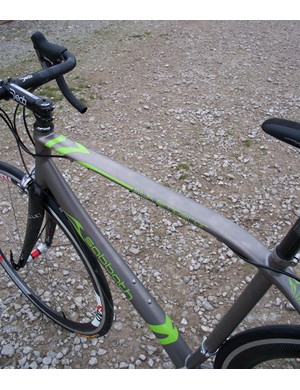 Silk Emperor top tube
