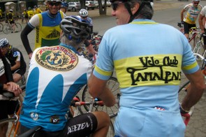 Former NorCal road racers and mountain bike pioneers Otis Guy (L), Joe Breeze and Chris Lang were part of the famous Velo Club Tamalpais.