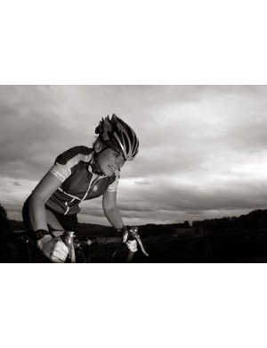 Helen Bennett pushes herself through the pain barrier