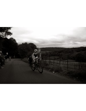 Ex national hill climb champ James Dobbin was the only other rider to break three minutes