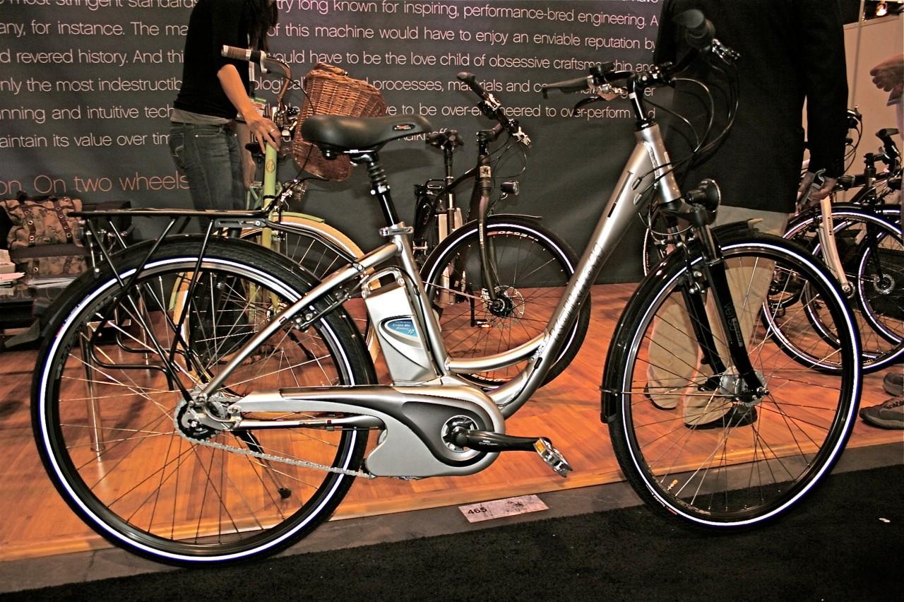 The US$2,499 Kalkhoff Agatuu eBike, made in Germany.