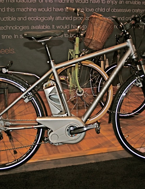 The US$3,399 Kalkhoff Pro Connect Sport.