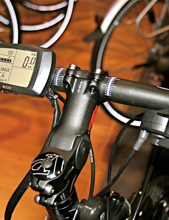 The Pro Connect Sport's cockpit.