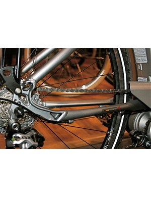 Custom stays provide the strength and stability necessary for the Kalkhoff eBike's extra power (and weight).