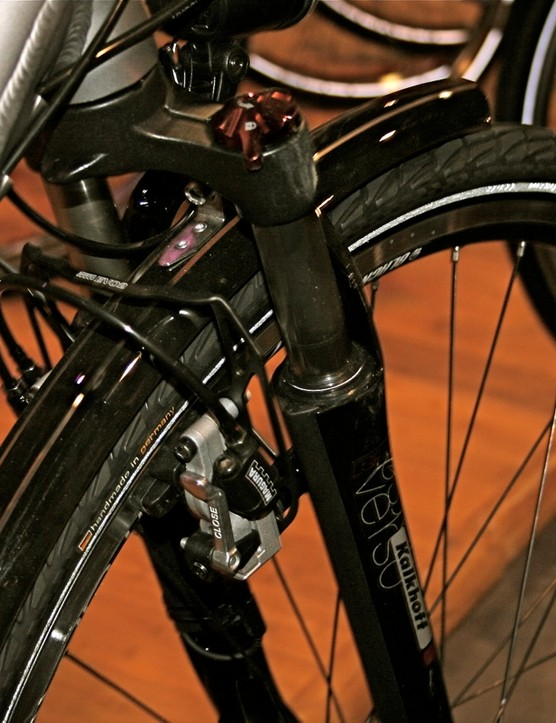 Several German components are used on most of the Kalkhoff models, including Magura hydraulic brakes.