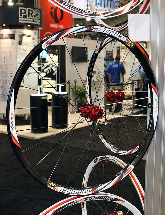 The Charger Pro is intended as Sun-Ringle's do-everything wheel for 2010 with a slightly wider rim