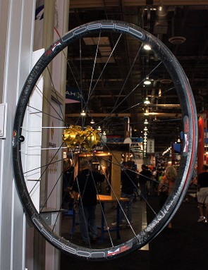 Sun-Ringle acknowledge that their carbon SRD won't be as light as some other race wheelsets on the market but they're touting it as more of an ultimate trail bike model with a slightly wider and stronger rim that just happens to be very light, too