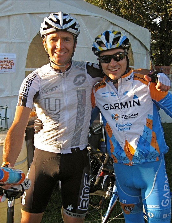 BMC Racing's Scott Nydam and Garmin's Lucas Euser are both local to Sonoma County