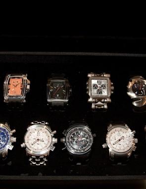 Hmm, which Oakley watch shall I wear today?