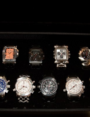 Hmm, which Oakley watch shall I wear today?