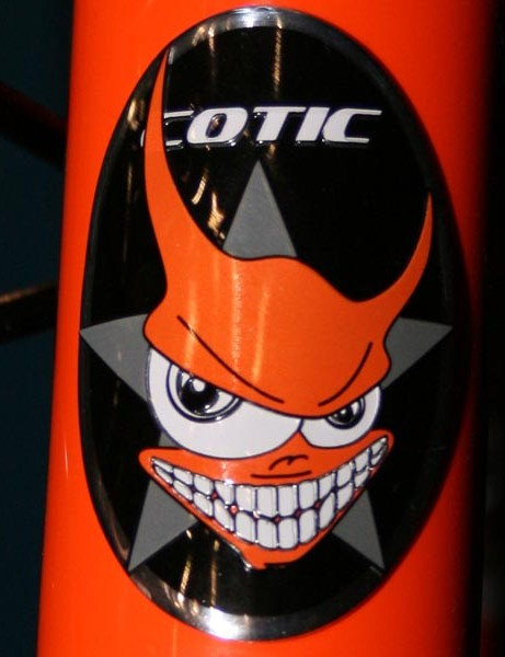 Cotic headbadge