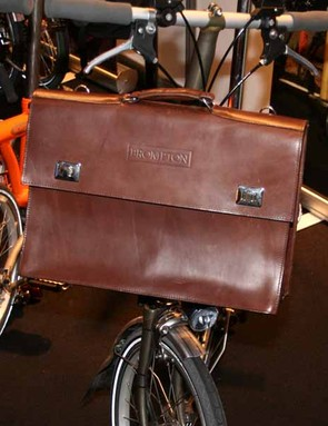 Brompton's A bag is at the very top end of the accessory price range