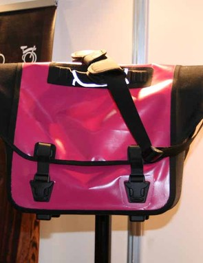 The Ortlieb designed O bag is fully waterproof and comes in pink and black