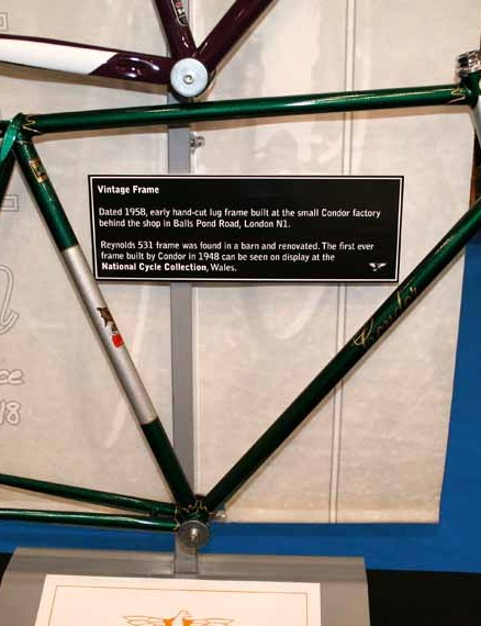 This 1958 Condor frame is still heavily influencing today's models