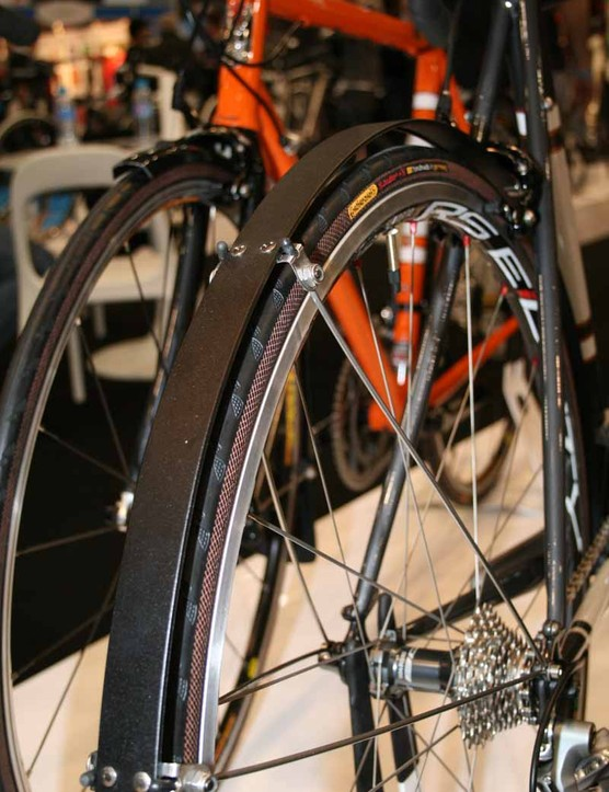 An interesting mudguard design, yet to be tested