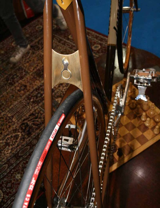 ...and on the brass plate on the seatstays