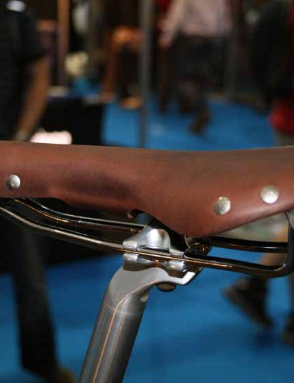 A Brooks saddle and Nitto seatpost for your backside