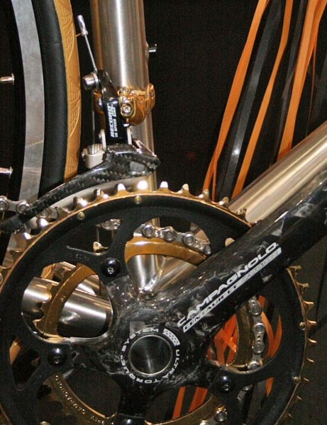 Gold plated cranks