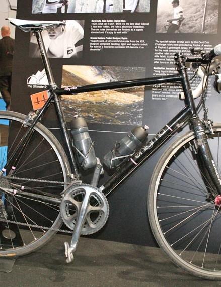 This bike was built especially for Rapha team rider Graeme Raeburn