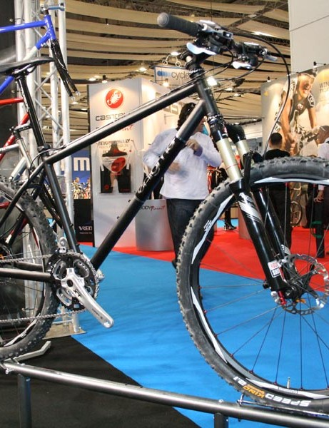 This is a new steel mountain bike from Enigma