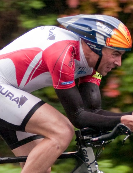 Duncan Urquhart won round 7 of the Rudy Project series in South Wales