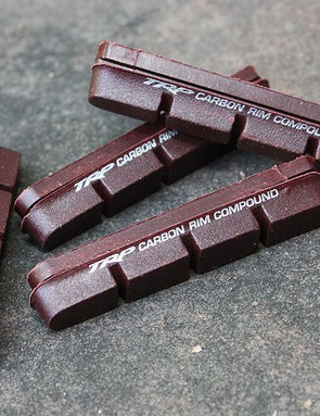 An additional set of carbon-specific pads are also included with the set