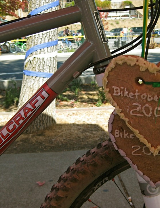 Sweet treats and sweet frames under the Soulcraft tent.