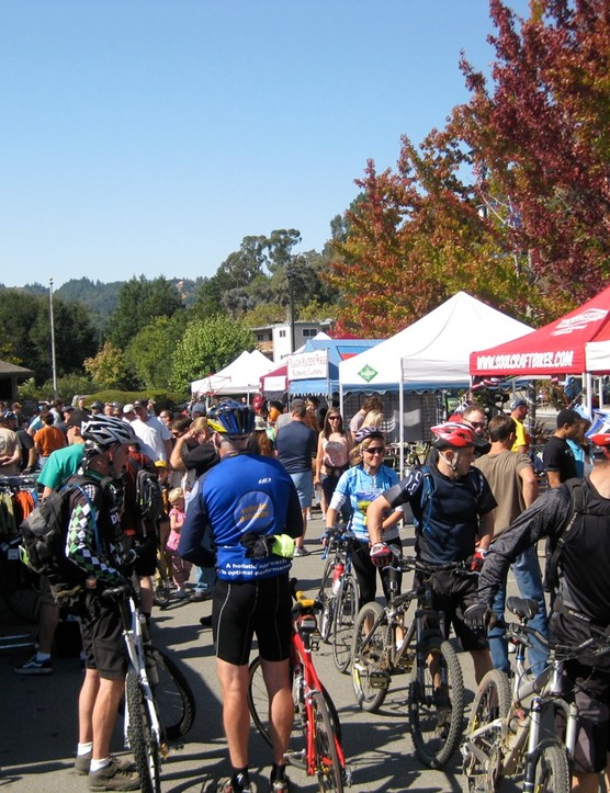 The crowds were thick all day Saturday in Fairfax.