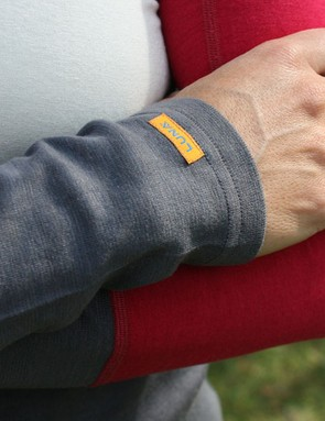 Luna offers its Graton arm warmers in the same Strebtex silk/wool/Lycra blend used in several of its other garments
