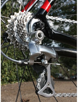 A replaceable hanger is a must-have in 'cross where crashes are a given