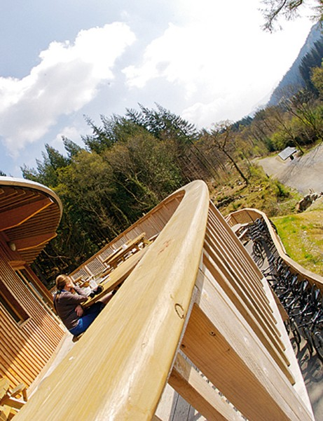 The trail centre attracts 130,000 visitors a year