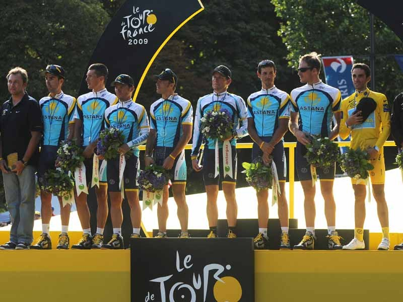 Astana is reportedly one of several teams targeted by a Tour de France drugs probe launched by French health authorities
