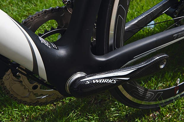 Carbon cranks from the Specialized stable
